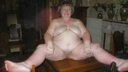 Dicke Oma sucht Sextreffen